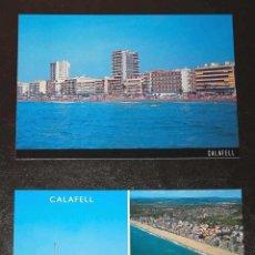 Postales: 2 POSTALES DE CALAFELL - NUEVAS - NO CIRCULADAS - POSTAL - CATALUÑA. Lote 27403569