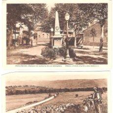 Postales: 2 POSTALES PUIGCERDA - ROISIN -OCASIÓN-. Lote 39613060