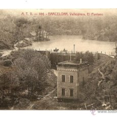 Postales: BARCELONA, VALLVIDRERA,EL PANTANO-EDC.ANGEL TOLDRA VIAZO-BARCELONA. Lote 39626418