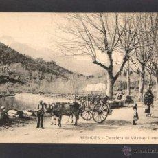 Postales: ARBÚCIES *CARRETERA DE VILADRAU I MONTSENY* ED. POSTALES MAURI. NUEVA.. Lote 2710984
