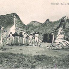 Postales: POSTAL DE TORTOSA -CAVA BARRACAS - DE HUECO GRABADO DE JOAQUIN MUMBÚ . Lote 39725003