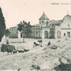 Postales: POSTAL DE TORTOSA -ERMITA DE MIG CAMI - DE HUECO GRABADO DE JOAQUIN MUMBÚ . Lote 39725028