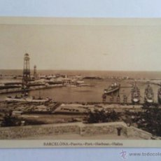 Postales: POSTAL BARCELONA, PUERTO. Lote 39728916