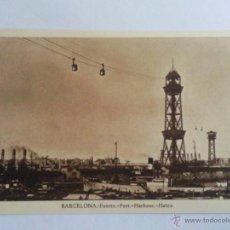 Postales: POSTAL BARCELONA, PUERTO. Lote 39728994
