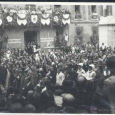 Postales: VICH (BARCELONA).- AÑO 1944 FOTOGRÁFICA. Lote 39801198