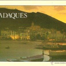 Postales: CADAQUES (GIRONA), VISTA NOCTURNA - PIC Nº 3342 - SIN CIRCULAR. Lote 39850681