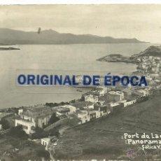 Postales: (PS-37179)POSTAL FOTOGRAFICA DE PORT DE LA SELVA-PANORAMA.MANUSCRITA POR V.FARGNOLI. Lote 39855131