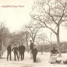 Postais: FIGUERAS Nº 514 PASEO NUEVO EDITA A.T.V. CIRCULADA EN 1908. Lote 39940096