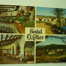 Postales: POSTAL JUNCOSA MONTMELL- HOSTAL EL CELLER -URB. AIGUAVIVA. Lote 39957953