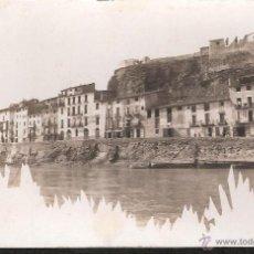 Postales: POSTAL MORA D'EBRE - MORA DE EBRO TARRAGONA - FOTOGRAFICA DEL 1911. Lote 39965231