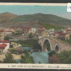 Postales: SANT JOAN DE LES ABADESSES - 3 - VISTA PARCIAL- ROISIN - (17930). Lote 39971608