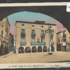 Postales: SANT JOAN DE LES ABADESSES - 8 - PLAÇA MAJOR - ROISIN - (17934). Lote 39971694