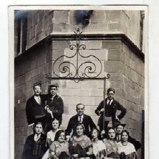 Postales: SALLENT (BARCELONA). GRUP ESBART DANSAIRE AL POBLE ESPANYOL ANY 1931. FOTOGRÀFICA. . Lote 39970942