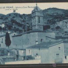 Postales: SAN PEDRO DE PREMIA - 8- IGLESIA Y CASA RECTORAL - ROISIN - (18055). Lote 40065498