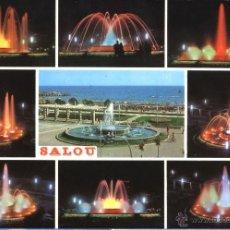 Cartes Postales: SALOU - FUENTE LUMINOSA. Lote 40174152