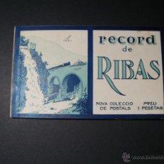 Postales: LIBRITO RECORD DE RIBAS. 10 POSTALES.. Lote 40237389