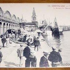 Postales: ANTIGUA POSTAL DE BARCELONA - PUERTO - L. ROISIN. DIVIDIDA - SIN CIRCULAR. Lote 39520225