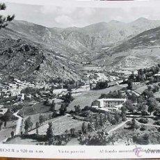 Postales: ANTIGUA FOTO POSTAL DE RIBAS DE FRESER (GERONA) - FOTO VIGO - CIRCULADA EN 1954. Lote 39523940