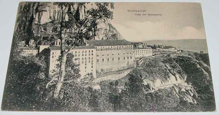 Carte Barcelone Montserrat.Antigua Postal De Montserrat Ancie Carte Post Buy Old Postcards