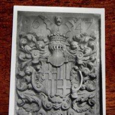 Postales: ANTIGUA POSTAL - BARCELONA - ESCUDO DE LA CIUDAD - BARCELONA ANTIGUA - RICART - 46 - SIN CIRCULAR. Lote 39604887