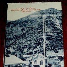 Postales: ANTIGUA POSTAL DE CAPDELLA (LLEIDA),MOLINOS, POSTE CENTRAL, TUBERIA Y CAMARA DE AGUA, ANGEL TOLDRA V. Lote 39606546