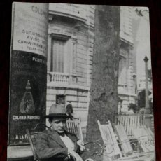 Postales: ANTIGUA FOTOGRAFIA DE MIUEL MIHURA EN BARCELONA, 1924, ESCRITOR, TAMAÑO LIGERAMENTE INFERIOR A UNA P. Lote 47694299
