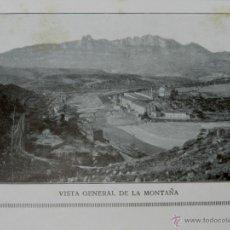 Postales: MONTSERRAT, ANTIGUO ÁLBUM DE 69 VISTAS, L. ROCA. 12 X 15,5 CM. Lote 39611466