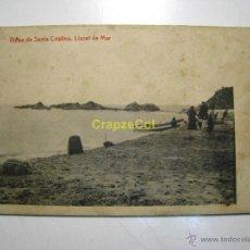 Postales: LLORET MAR: VISTAS DE STA. CRISTINA - POSTAL . Lote 40274396