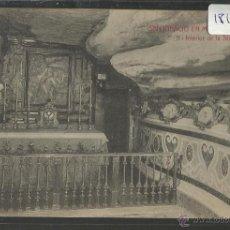 Postales: SAN IGNACIO DE MANRESA - 11 - INTERIOR DE STA CUEVA - ATV - (18197). Lote 40287915