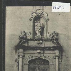 Postales: MANRESA - 299 - PUERTA PRINCIPAL DE LA IGLESIA DEL RAPTO - A.THIRIAT Y CIA - (18201). Lote 40288016