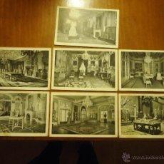Postales: LOTE Nº 5 POSTALES DEL PALACIO DE PEDRALBES. Lote 40318521