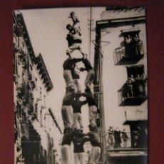 Postales: POSTAL TARRAGONA - TORRE HUMANA 3 DE 8 - Nº 80 - RAYMOND -SIN CIRCULAR - RARA -. Lote 40336802