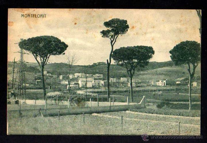 MONTFLORIT. CIRCULADA. (Postales - España - Cataluña Antigua (hasta 1939))