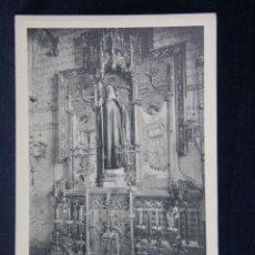 Postales: MONTSERRAT ALTAR DE SANT JOSEP. Lote 40372713