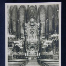 Postales: MONTSERRAT ALTAR MAYOR DE LA BASÍLICA. Lote 40373017
