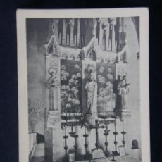 Postales: MONTSERRAT ALTAR DE L'IMMACULADA. Lote 40373224