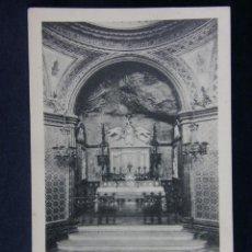 Postales: MONTSERRAT INTERIOR DE LA SANTA COVA DE LA VERGE. Lote 40373256