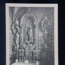 Postales: MONTSERRAT ALTAR DE SANTA GERTRUDIS. Lote 40373302