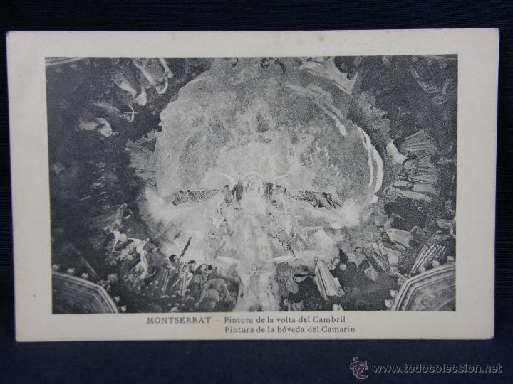 MONTSERRAT PINTURA DE LA VOLTA DEL CAMBRIL (Postales - España - Cataluña Antigua (hasta 1939))