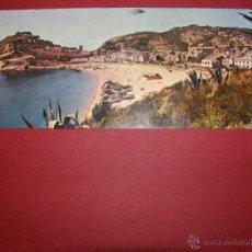 Postales: TARJETA POSTAL - VISION SCOPE - COSTA BRAVA - GERONA - TOSSA DE MAR - VISTA GENERAL - SIN CIRCULAR -. Lote 40461376