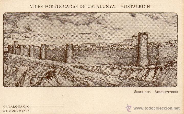 HOSTALRICH. (Postales - España - Cataluña Antigua (hasta 1939))