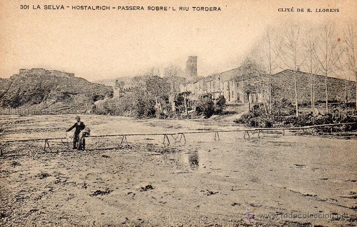 HOSTALRICH. 301 PASERA (Postales - España - Cataluña Antigua (hasta 1939))