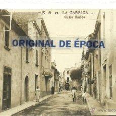 Postales: (PS-37969)POSTAL DE LA GARRIGA-CALLE BAÑOS. Lote 40593549