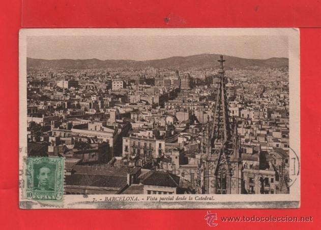 POSTAL BARCELONA CIRCULADA EDICIÓN ROISIN VER FOTO ADICIONAL (Postales - España - Cataluña Antigua (hasta 1939))