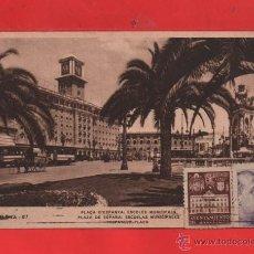 Postales: POSTAL BARCELONA CIRCULADA EDICIÓN ZWRKOWITZ VER FOTO ADICIONAL. Lote 40644179