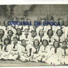 Postales: (PS-37998)POSTAL FOTOGRAFICA DE BARCELONA-ALUMNAS COLEGIO LA PRESENTACION. Lote 40679444