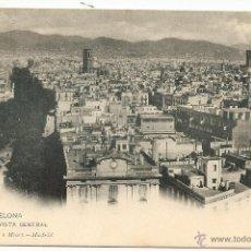 Postales: BARCELONA. HAUSER Y MENET. DORSO SIN DIVIDIR. Lote 40698237