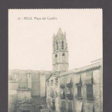 Postales: REUS - 15 PLAZA DEL CASTILLO - 11975 FOTOTIPIA THOMAS, EDICIÓN TRICAZ Y FUMADÓ. Lote 40757888