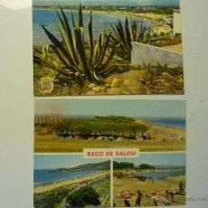 Postales: LOTE POSTALES SALOU Y RECO DE SALOU.- 1 ESCRITA. Lote 40808296