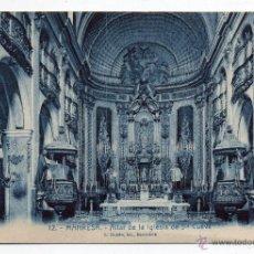 Postales: MANRESA. ALTAR DE LA IGLESIA DE STA. CUEVA.. Lote 40824883